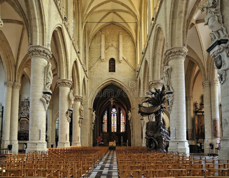 eglise de la Chapelle教会 库存图片