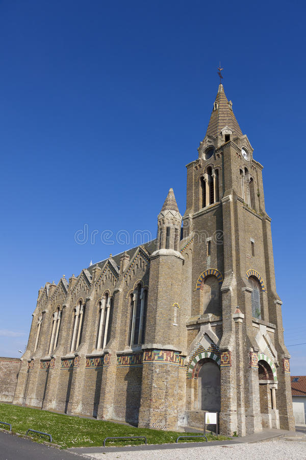 Eglise Notre Dame de Bon Secours kyrka arkivfoton