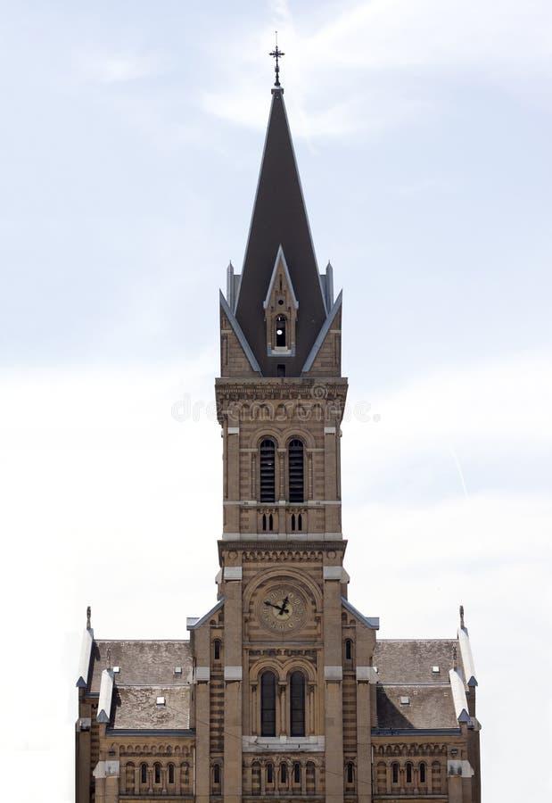 Eglise Saint Bruno. In grenoble France stock images