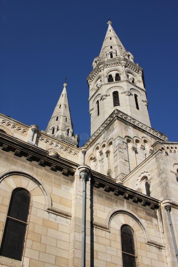 Eglise St Pierre стоковые изображения
