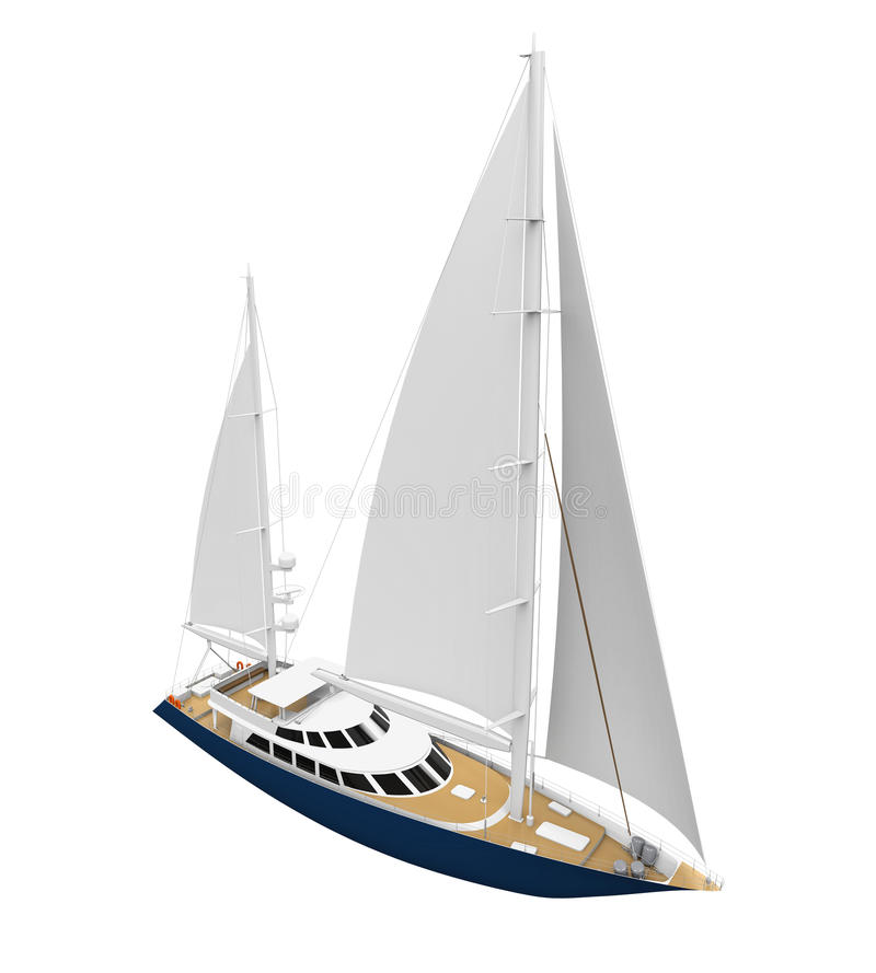 Download Żeglowanie Jacht Odizolowywający Ilustracji - Ilustracja złożonej z przejażdżka, nawigacja: 57655069