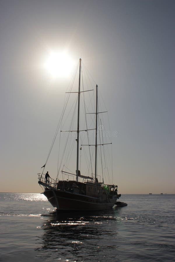 Żeglowanie statek fotografia royalty free