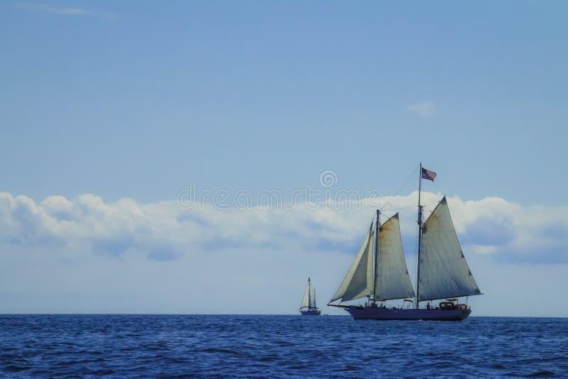 Żeglowanie statki fotografia stock