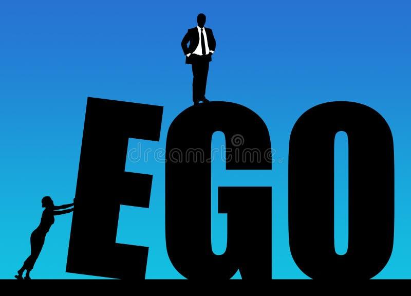 ego royalty-vrije illustratie
