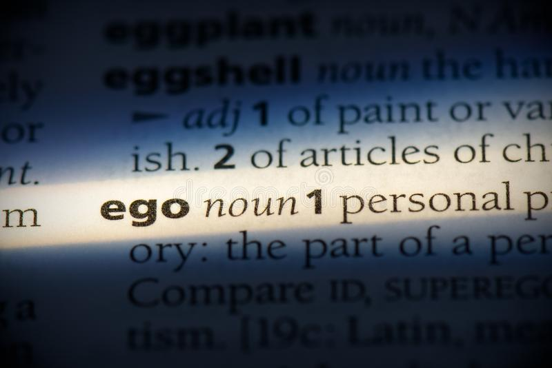 Ego stockfotografie