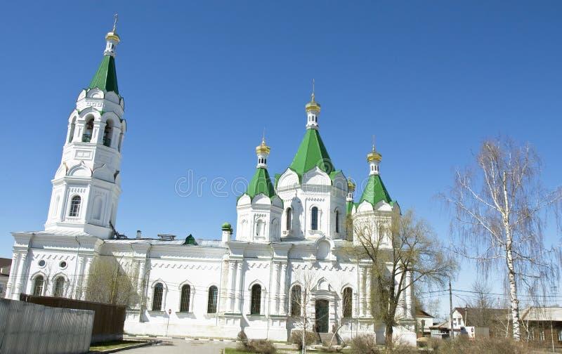 Egorevsk, cathedral of Alexander Nevskiy royalty free stock photography