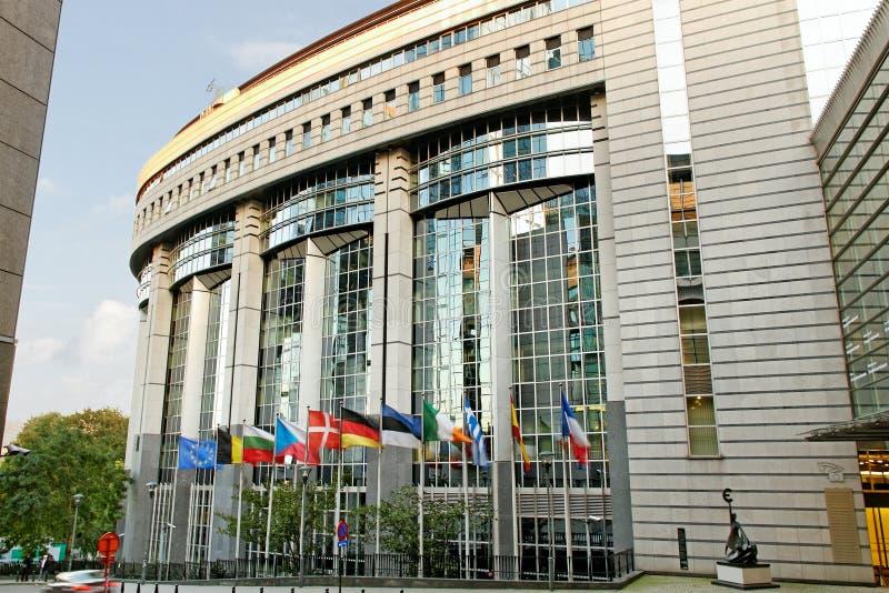 EGparlamentet. fotografering för bildbyråer