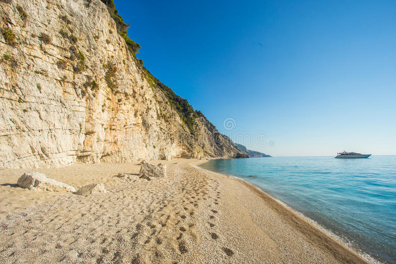 Egremni Beach, Greece royalty free stock photography
