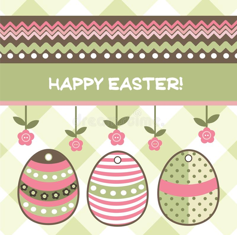 Egs de Pascua stock de ilustración