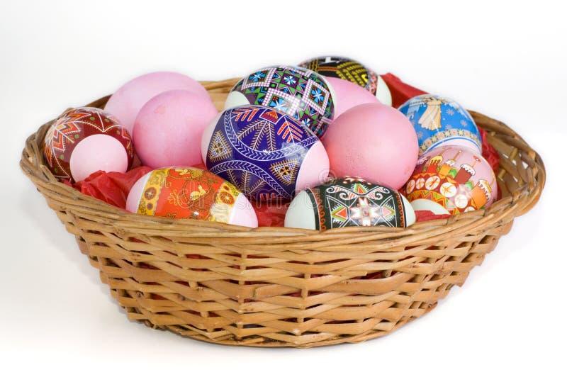 Egs di Pasqua immagini stock libere da diritti