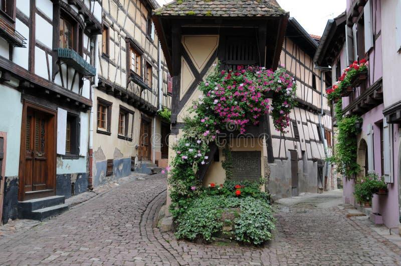 Eguisheim royalty-vrije stock afbeelding