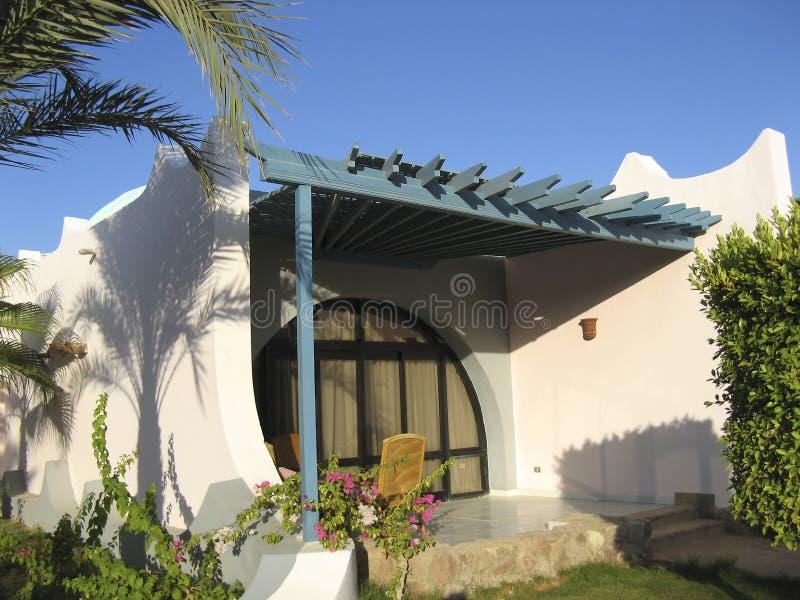 egyp bungalowu kurort zdjęcia royalty free