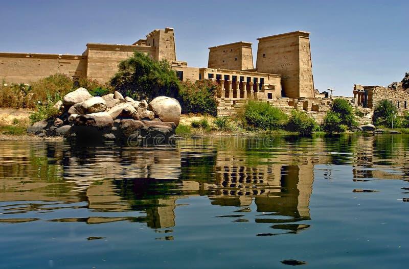 egypt öphilae royaltyfria foton