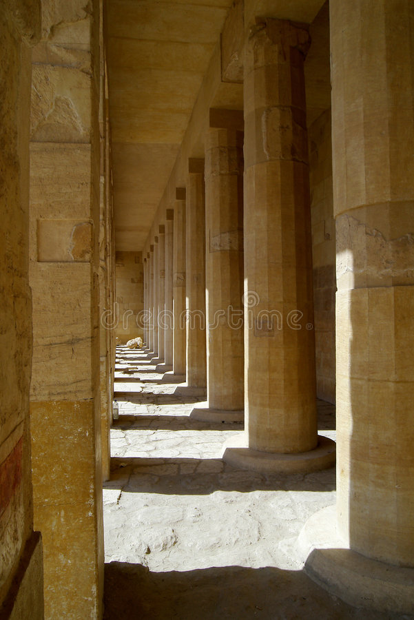 Egypt. Hatshepsut's tomb in a queen's valley stock image