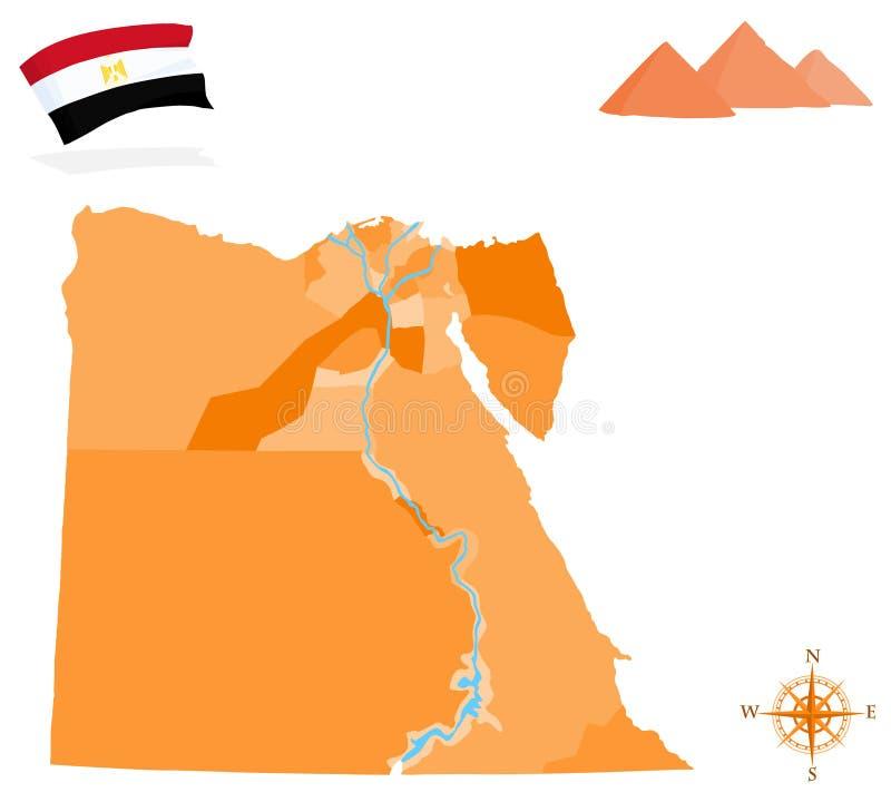 egypt royaltyfria bilder