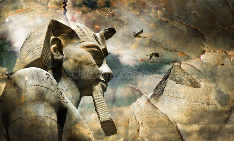 Egypt. Illustration about ancient egyptian culture