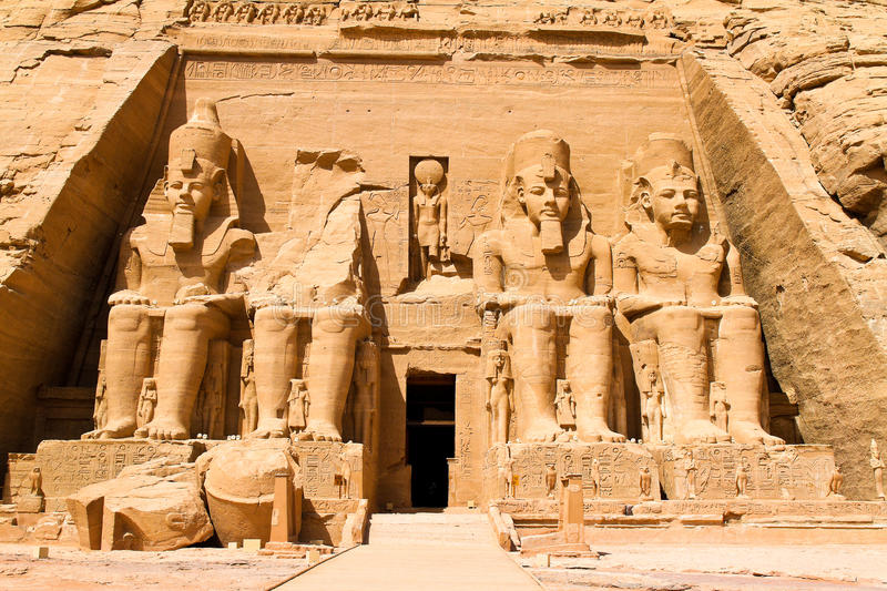 Download Egypt, Abu Simbel, stock photo. Image of simbel, temples - 14044276
