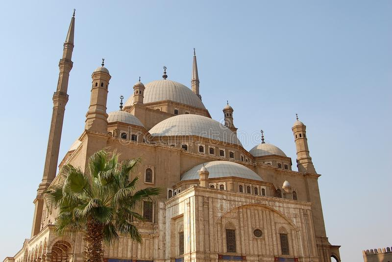 Egypt, Cairo, Mohamed Ali mosque royalty free stock photography