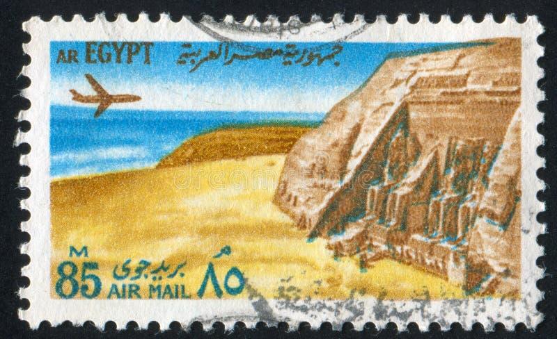 Temples at Abu Simbel royalty free stock photography