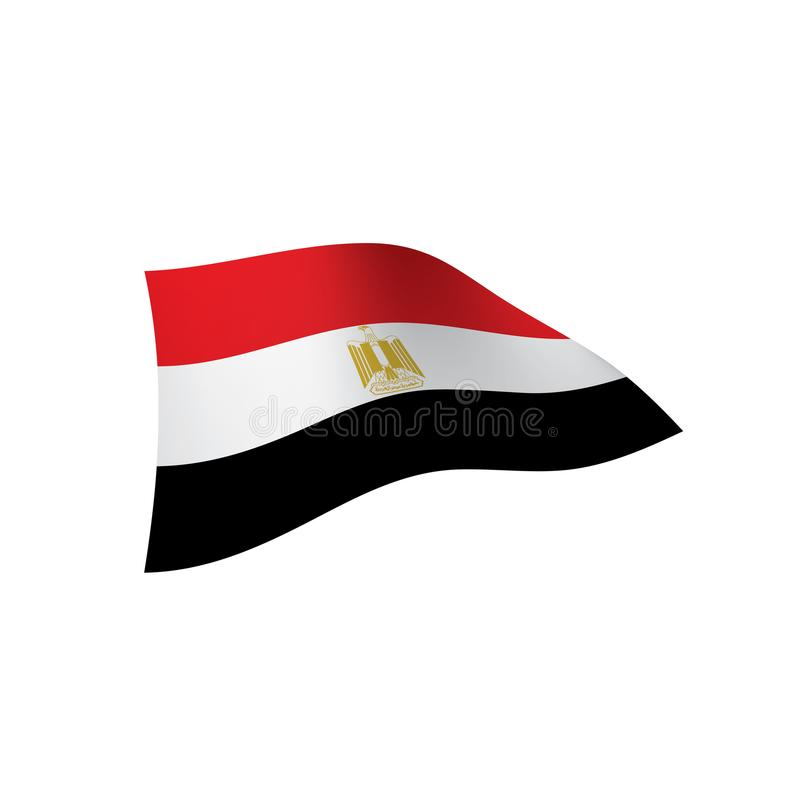 Download Egypt Flag, Vector Illustration Stock Vector   Illustration Of  Africa, Continent: 111181423