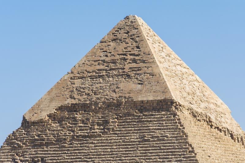 egypt Giza khafre ostrosłup obrazy royalty free
