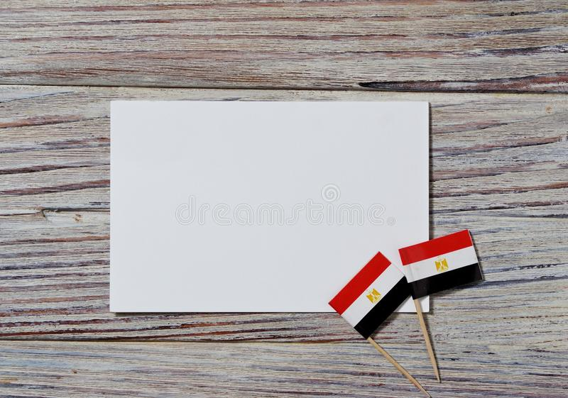 National day of Egypt on 23 July. revolution day. the concept of veterans Day or memorial Day . Egypt glory to the heroes of the. Egypt hanging flag for honour stock images