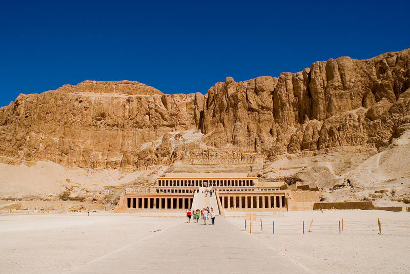 egypt hatshepsut świątynia obrazy stock