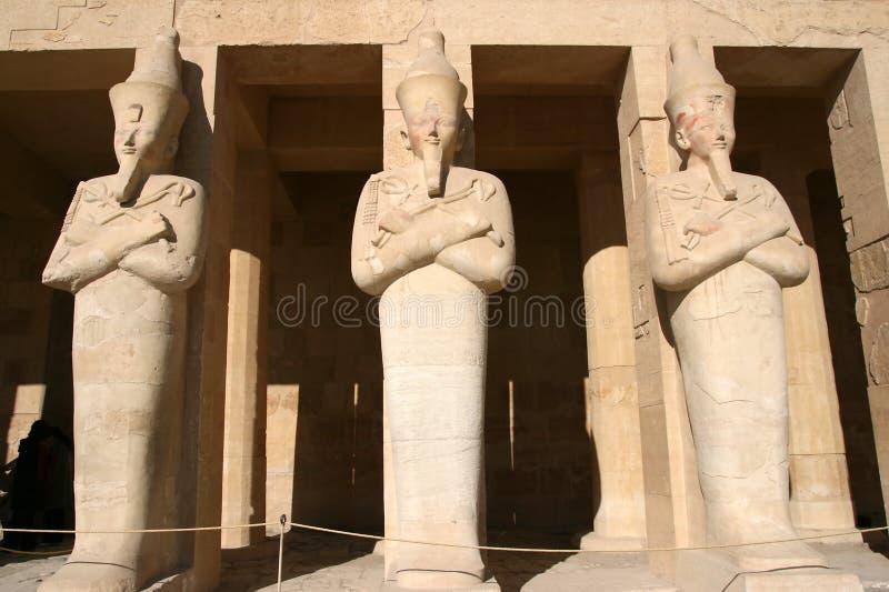 egypt hatshepsuttempel royaltyfri bild