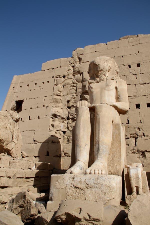 egypt karnak świątynia obraz stock