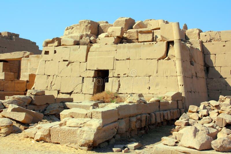 egypt karnak Luxor świątyni grobowiec obraz stock