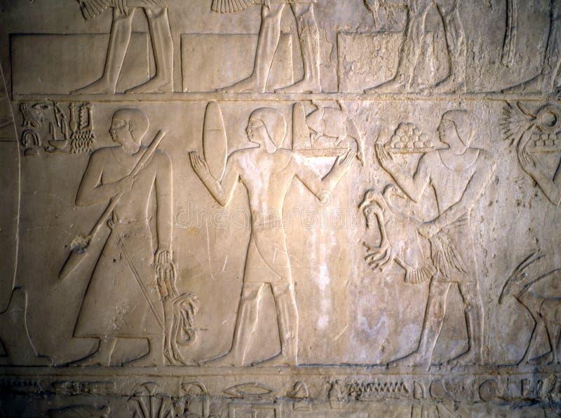 egypt lättnad royaltyfria foton