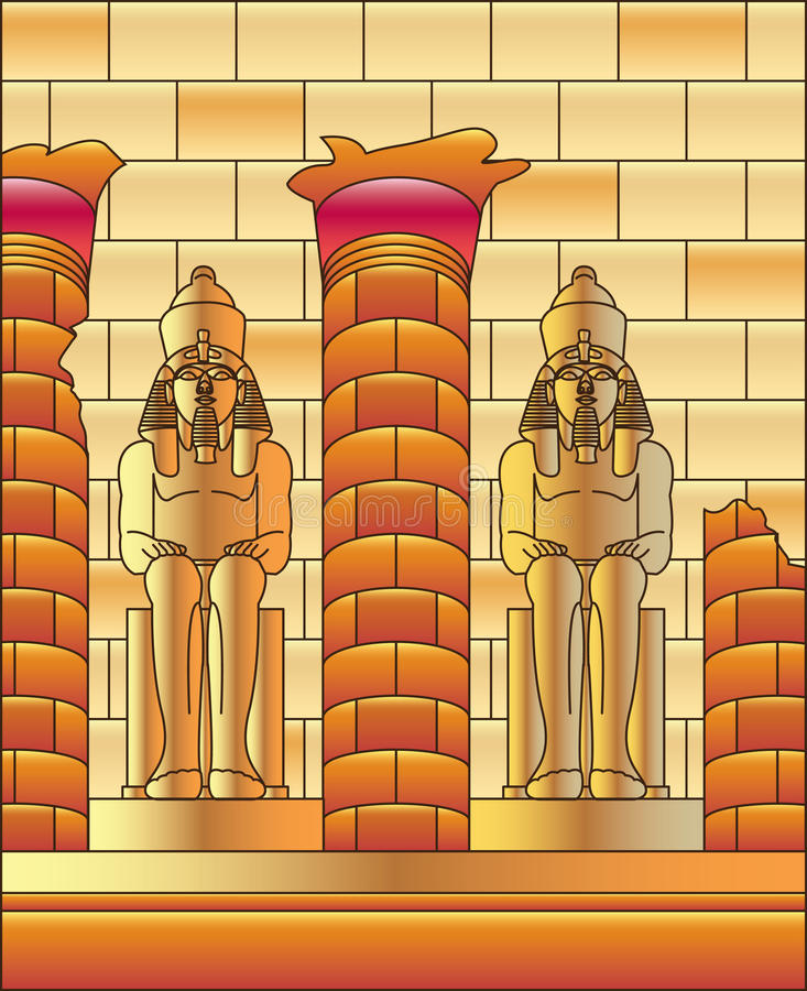 Free Egypt Luxor And Statue Of Ramses Stock Photography - 23871642