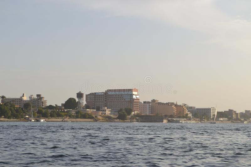 Egypt, Luxor, Nile stock photography