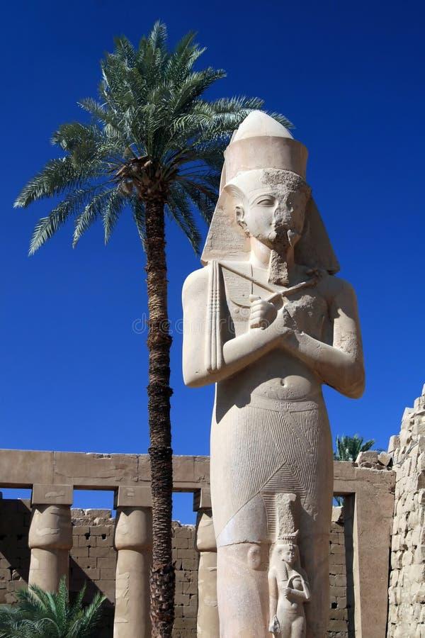 egypt luxor tempel royaltyfri foto