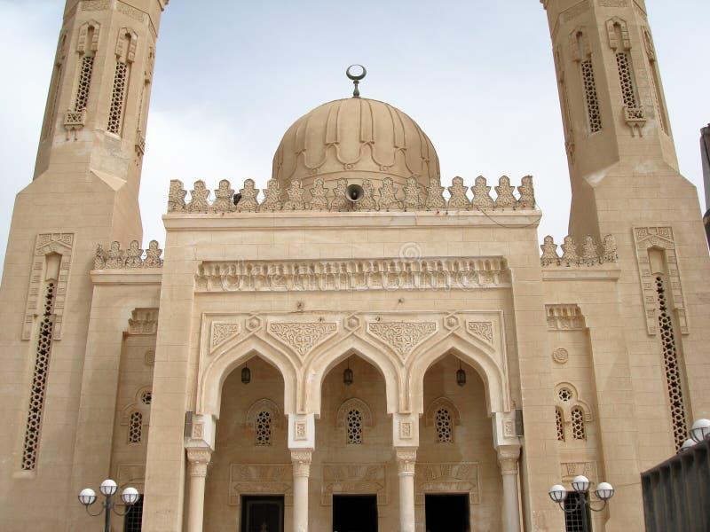 egypt moskéklosterbroder arkivbild