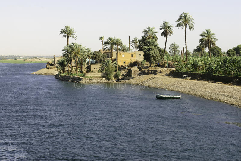 egypt nile royaltyfri bild