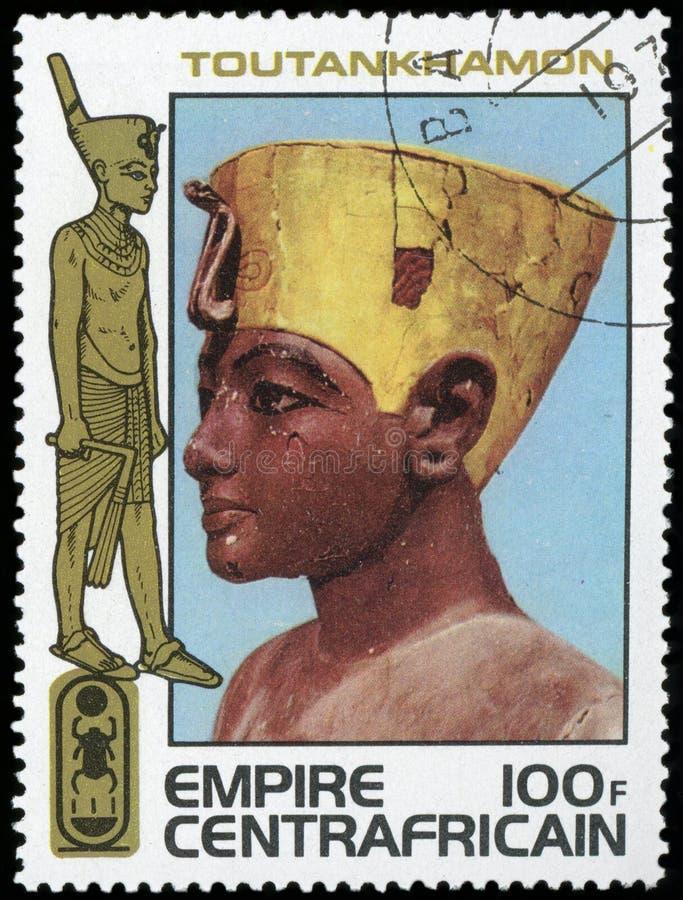 Egypt - Postage stamp royalty free stock photos