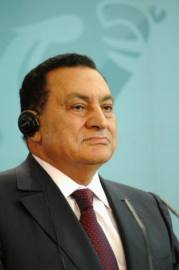Download Egypt President Hosni Mubarak Editorial Stock Image - Image: 18167999