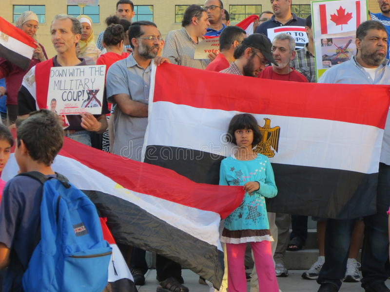 Download Egypt Protest Mississauga K Editorial Photography - Image: 32093957