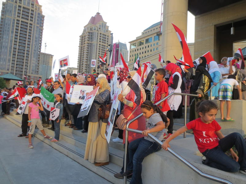 Download Egypt Protest Mississauga S Editorial Photography - Image: 32093952