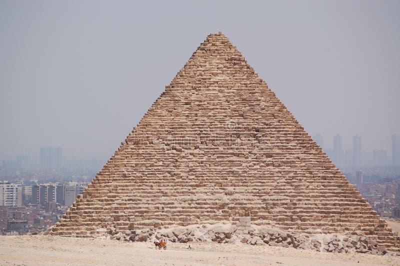 Egypt. Pyramids, Cairo city background, Egypt stock photo