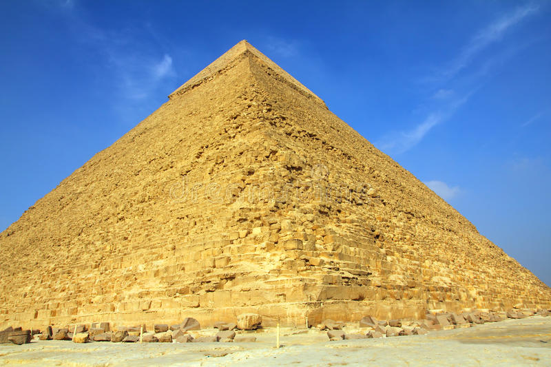Download Egypt pyramids in Giza stock photo. Image of great, historic - 19107298