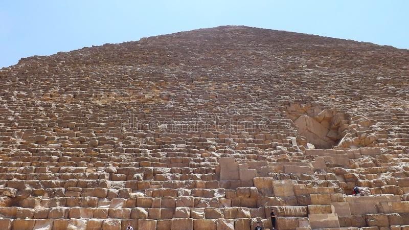 Pyramid of Cheops. Egypt. Pyramids. Great pyramid. Attractions of Egypt. Sightseeing in Egypt. Оne of the wonders of the world stock images