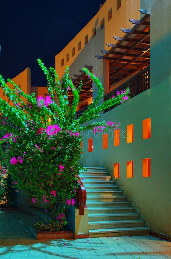 Free Egypt Resort In Night Stock Photography - 11991062