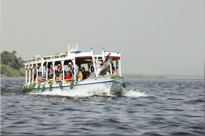 Egypt - September, 30th 2010 Nile stock photo