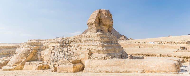 egypt stor sphinx arkivfoton