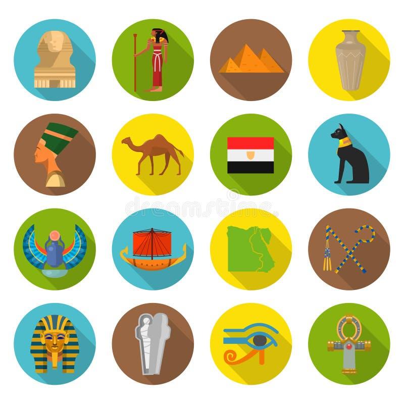 Egypt Symbols Set Stock Vector Illustration Of Decoration 105309694