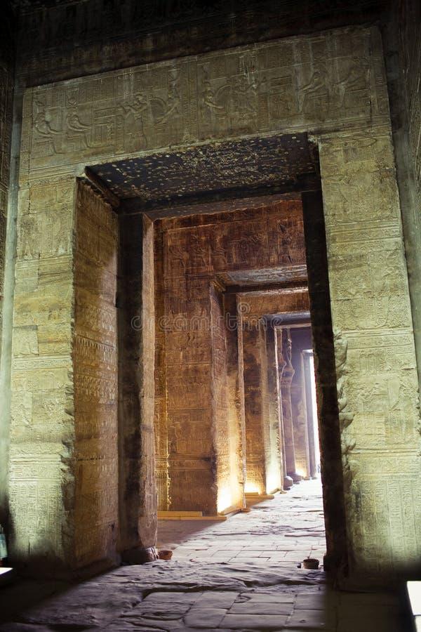 egypt temple στοκ εικόνα