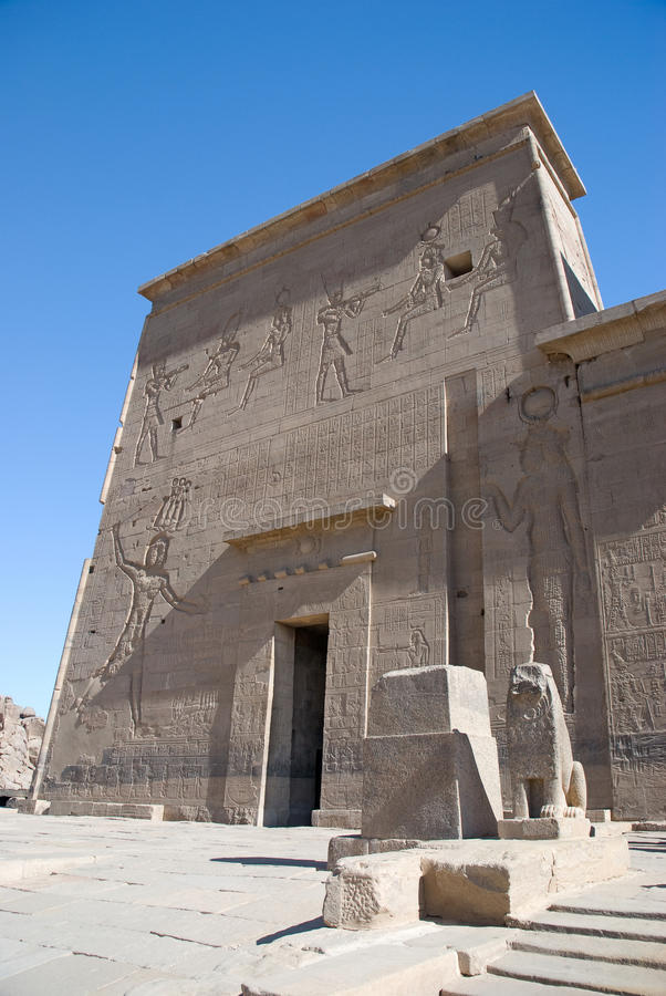 Download Egypt, Temple Of Philae Royalty Free Stock Photos - Image: 25781158