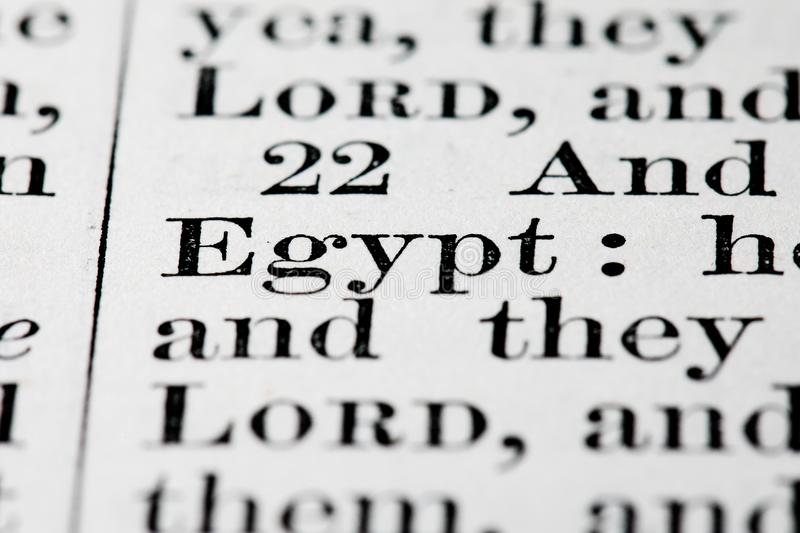 Download Egypt text stock image. Image of macro, focus, christianity - 15789863